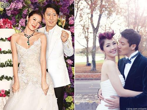 Những đám cưới bí mật của sao Hoa ngữ