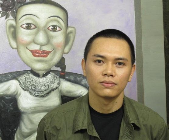 """Họa sĩ Bùi Thanh Tâm: Tôi vẽ về """"những người điên"""""""