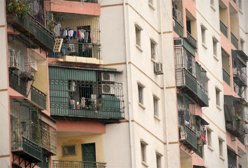 Chuồng cọp 'tấn công' chung cư cao tầng