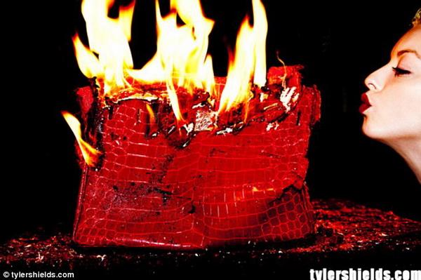 Con gái Clint Eastwood đốt túi Birkin 100.000 USD