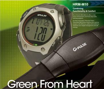 Đồng hồ theo dõi nhịp tim HRM-M10