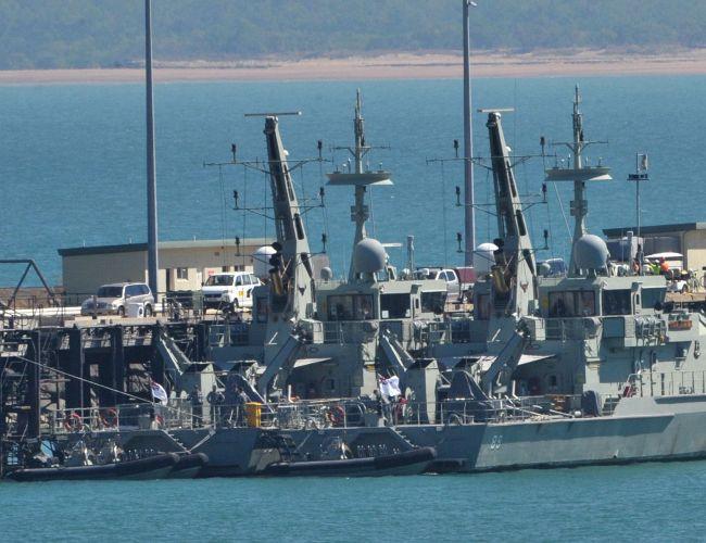 Một góc căn cứ quân sự HMAS Coonawarra ở Darwin, Australia