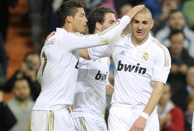 2012 by Ronaldo  Benzema Benzema And Ronaldo 2012