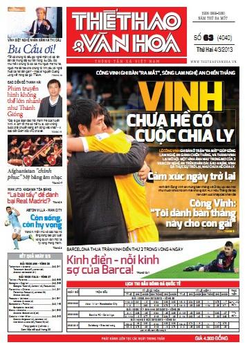 Đọc gì trên báo TT&VH ngày 04/03/2013