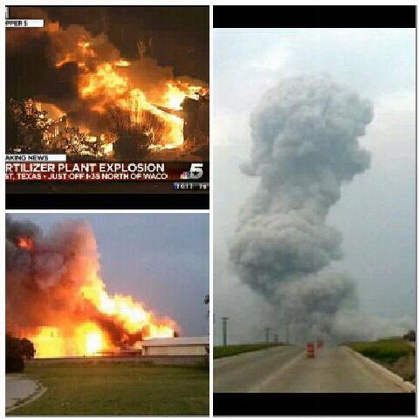 Tiêu điểm - Hiện trường vụ nổ khủng khiếp 'như bom hạt nhân' ở Texas
