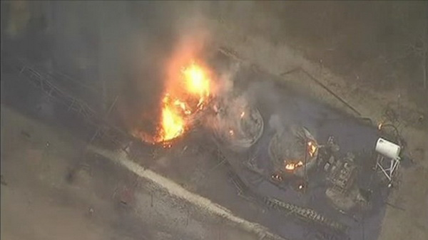 Tiêu điểm - Hiện trường vụ nổ khủng khiếp 'như bom hạt nhân' ở Texas (Hình 3).