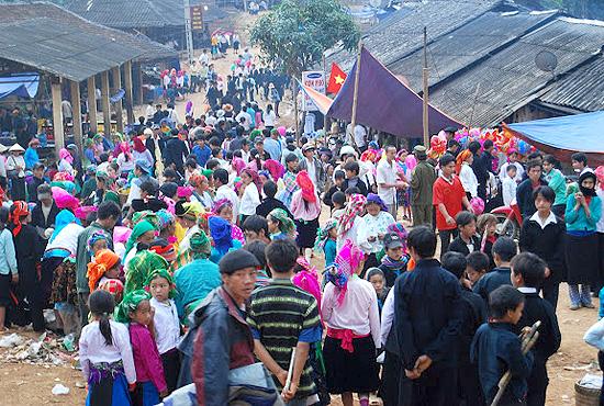 Chợ tình Khau Vai Hà Giang