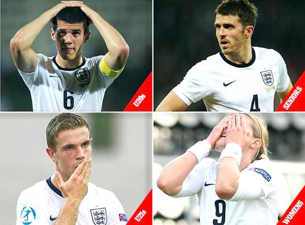 Bóng đá Quốc tế - Các đội tuyển Anh đồng loạt thất bại: Thay áo, mạt vận? (Hình 3).