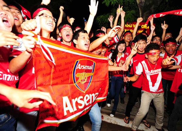 """Niềm hạnh phúc của các CĐV Arsenal tại Việt Nam đó là """"Những ngày sống như mơ"""""""