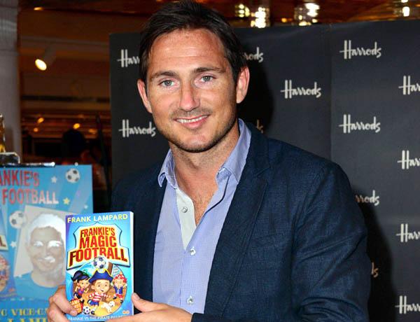 Frank Lampard viết sách cho thiếu nhi: Vỡ mộng 'J.K Rowling của bóng đá'
