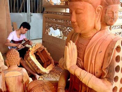 Liên hoan du lịch Hội tụ tinh hoa làng nghề truyền thống sông Hồng tại Hà Nội