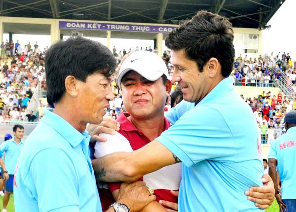 HV.An Giang tất bật với V-League 2014