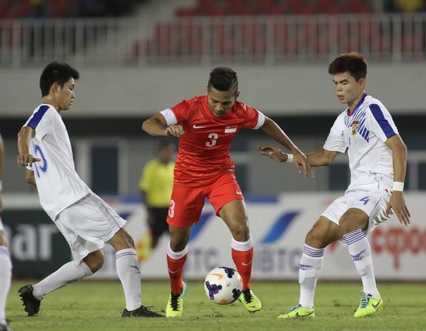 Video: U23 Singapore vs U23 Lào