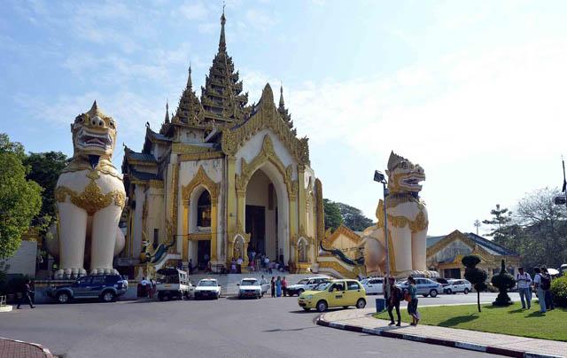 Chùa Vàng Shwedagon ở Yangoon -19