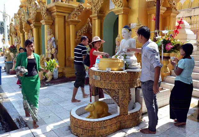 Chùa Vàng Shwedagon ở Yangoon -23