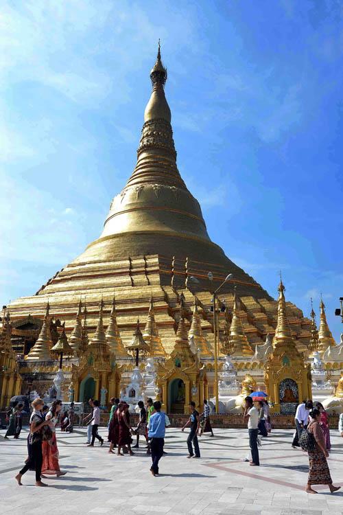 Chùa Vàng Shwedagon ở Yangoon -24