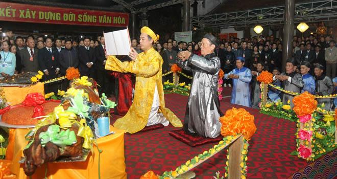 Lễ hội đền Trần Thái Bình được công nhận là Di sản văn hóa phi vật thể quốc gia