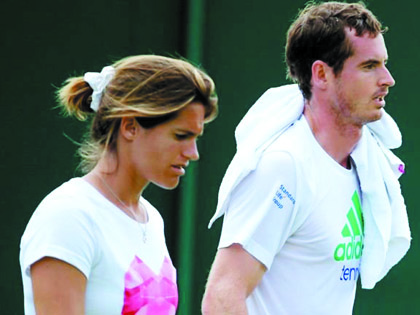 Andy Murray tiến bộ là nhờ Amelie Mauresmo