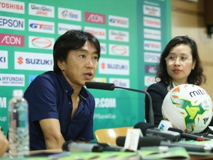 HLV Toshiya Miura: 'Mục tiêu tiếp theo của đội tuyển Việt Nam là chung kết'