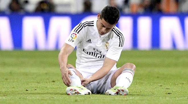 Hàng tiền vệ Real Madrid: Cơn đau đầu từ James Rodriguez