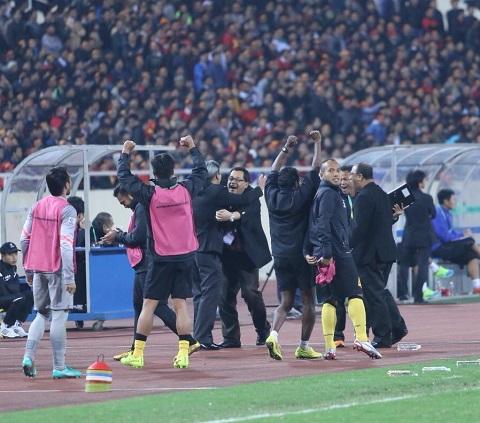 Malaysia giành một chiến thắng không tưởng trên sân khách
