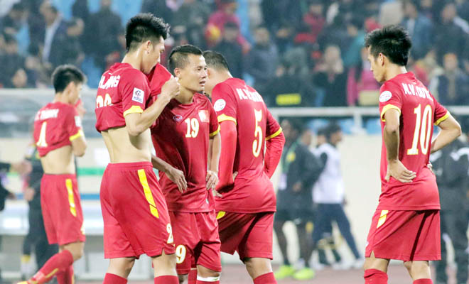 Tuyển Việt Nam thua từ cách tiếp cận trận đấu