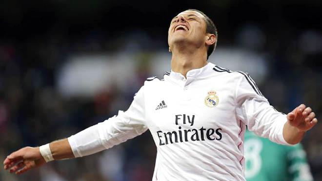 Chicharito sẽ ngồi dự bị muôn đời ở Madrid