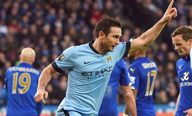 Man City hạ Leicester 1-0: Cột mốc lịch sử của Lampard