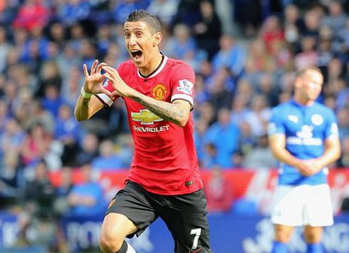 Di Maria vừa gia nhập Man United với giá 60 triệu bảng