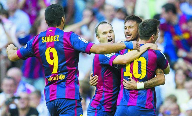 Barca của Enrique và Barca của Guardiola: Vị tiền vệ, vị tiền đạo
