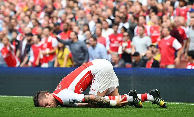 Câu chuyện thể thao: Vì sao Arsenal hay dính bão chấn thương?