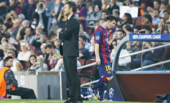 HLV Enrique đòi KỶ LUẬT Messi và nội bộ Barcelona đã HỖN LOẠN như thế nào?