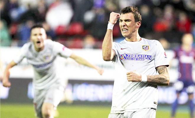 Atletico Madrid: Mandzukic ghi bàn là tin buồn cho… Torres?