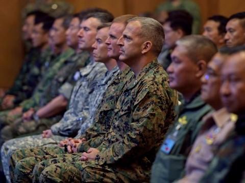Tập trận 'Hổ mang Vàng' tại Thái Lan