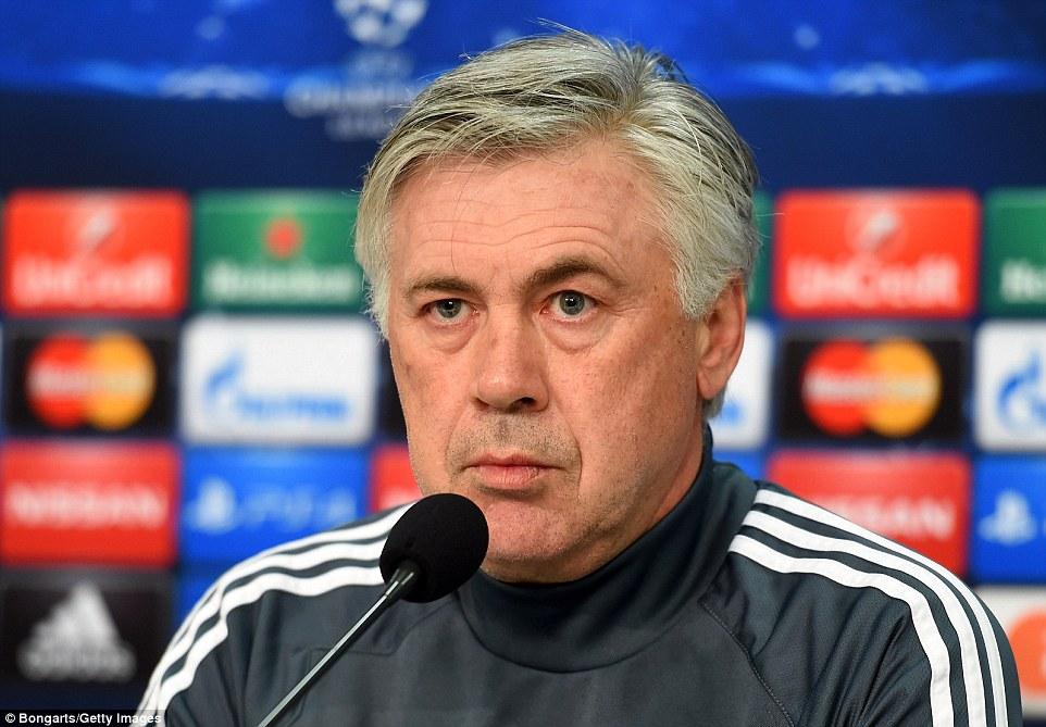 Carlo Ancelotti: 'Real sẽ thay đổi nếu hạ được Schalke. Tôi tin Ronaldo sẽ ghi bàn'