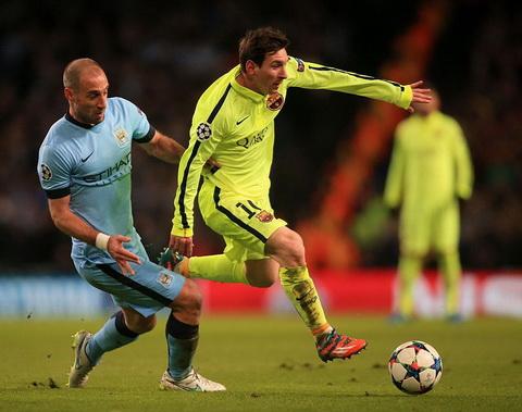 Không ghi bàn nhưng Messi đã chơi xuất sắc