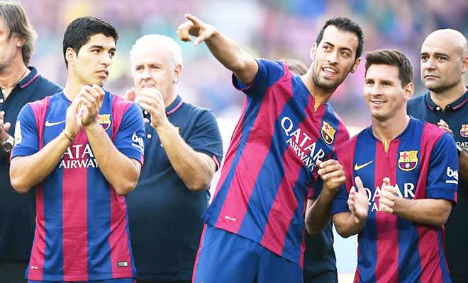 Barcelona gia hạn hợp đồng với Sergio Busquets: Chào anh, thống soái Busi!