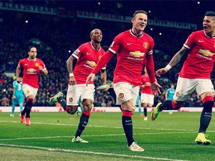 Man United 2 - 0 Sunderland: Rooney lập cú đúp, chơi hơn người, Man United thắng nhọc nhằn