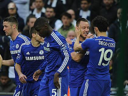 Chelsea 2 - 0 Tottenham: Terry, Costa giúp Mourinho giành chiếc cúp 'quan trọng nhất sự nghiệp'