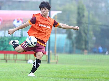 Tìm vị trí cho Công Phượng ở đội Olympic Việt Nam