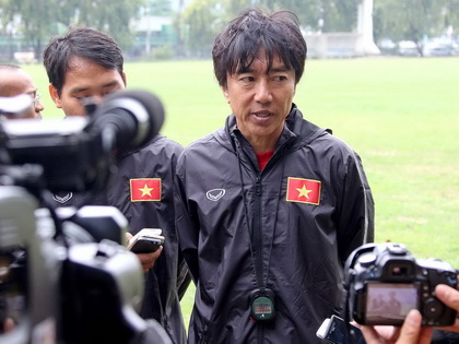HLV Miura: 'Công Phượng đang tập luyện tốt'