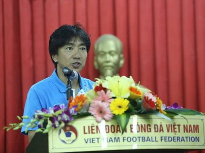 Tổng thư ký VFF Lê Hoài Anh: 'HLV Miura chỉ đạo 2 BHL'