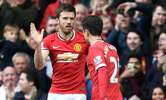 Man United: Phép cộng Carrick & Herrera