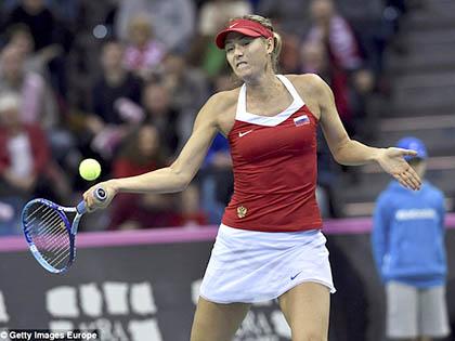 Maria Sharapova rút khỏi Fed Cup