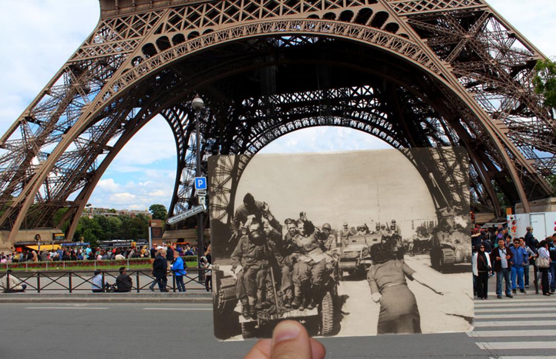 Ảnh cực hiếm: Paris những ngày chống phát xít năm 1940 khác hẳn bây giờ