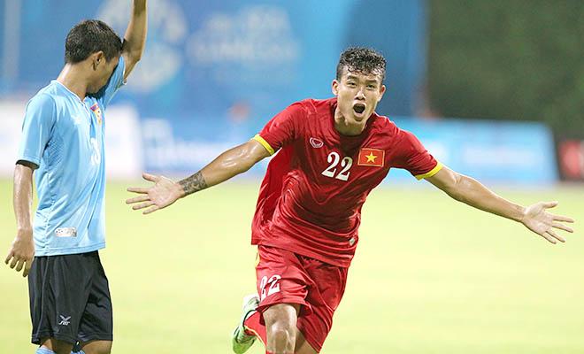 kết quả seagame 28 U23 Việt Nam 1-0 U23 Lào