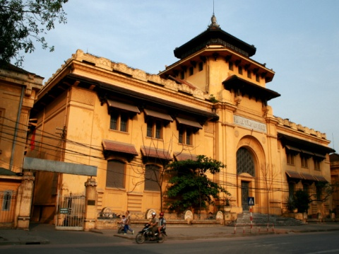 Kiến trúc Pháp cổ ở Việt Nam chia năm sẻ bảy