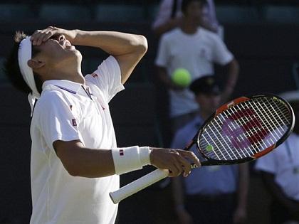 Kei Nishikori rút lui khỏi Wimbledon 2015 vì chấn thương