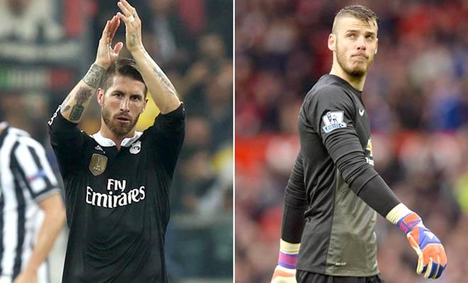 Man United: Lối thoát nào cho Ramos và De Gea?