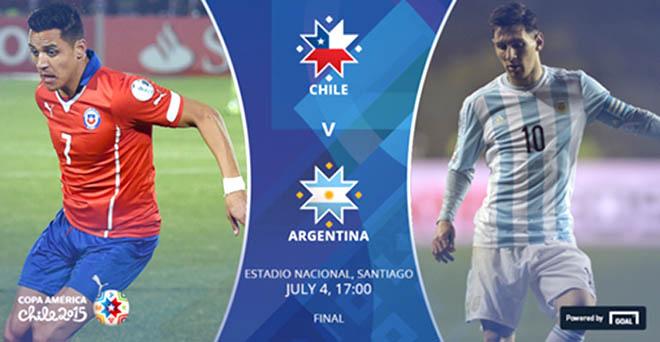 5 cuộc đối đầu quyết định chung kết Copa America